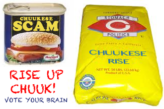 Enough with the political scam! Vote your brain in March!